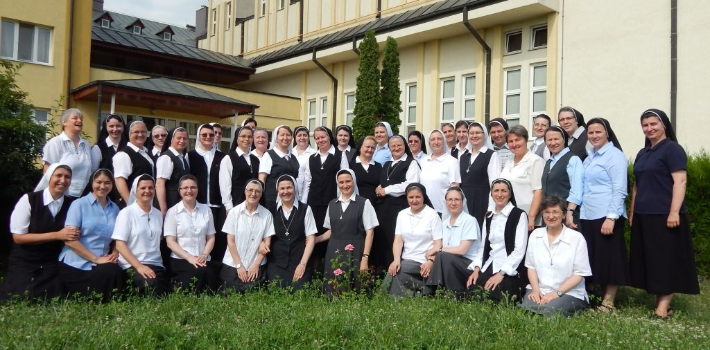 Romanian Province Congregation group photo