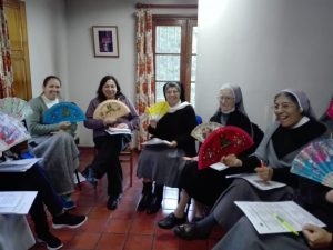 group discussion at the Argentine provincial congregation